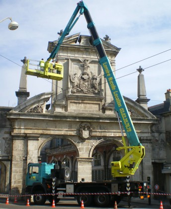 Rénovation de monument